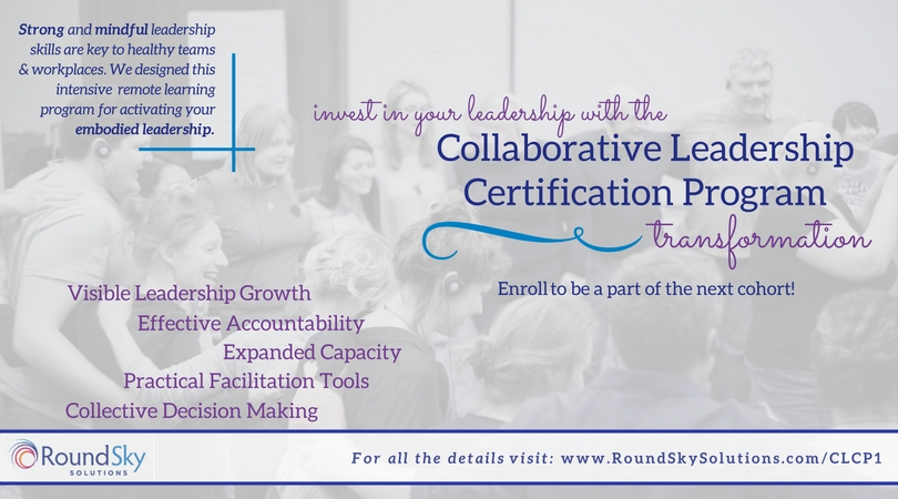 Register for the Collaborative Leadership Certification Program, Level I