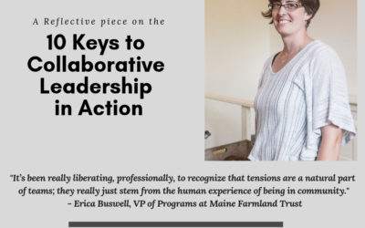 10 Keys to Collaborative Leadership In Action