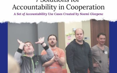 7 Solutions for Accountability in Cooperation
